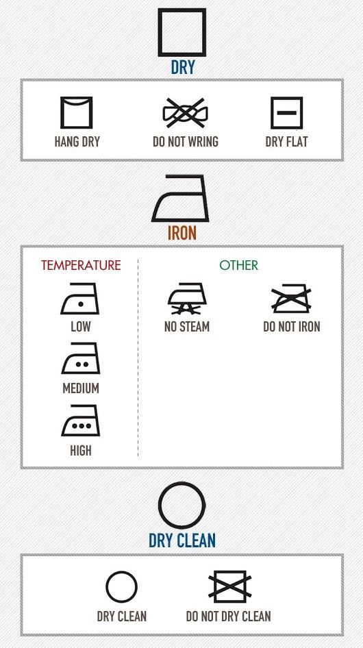 Laundry Symbols Deciphered! Here's What the Care Labels on Your Clothes Really Say