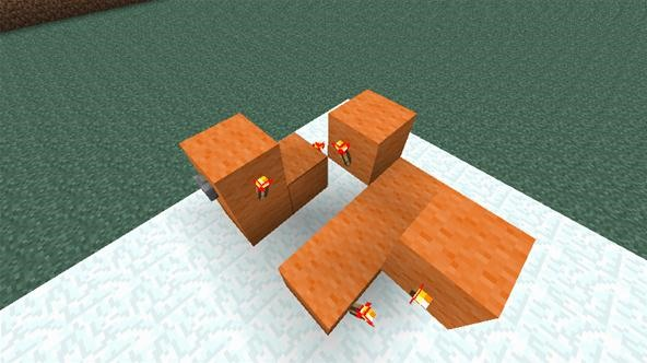 How to Build a T Flip-Flop in Minecraft