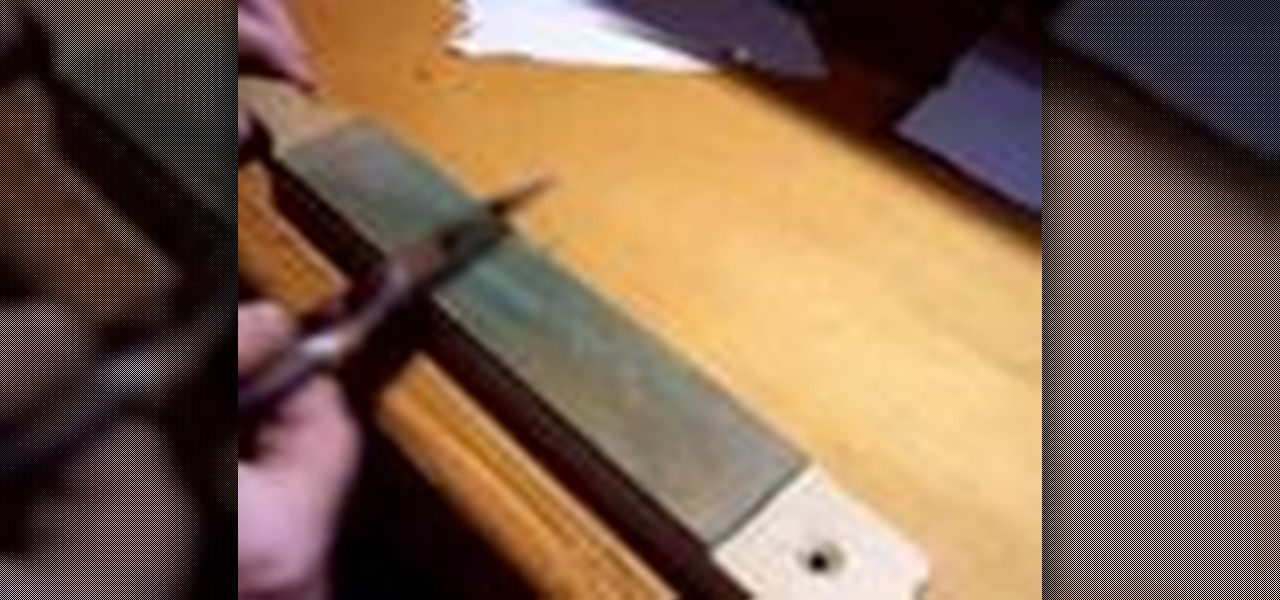How to sharpen a convex wood carving knife « sculpture