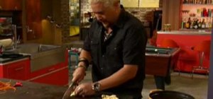 Make a creamy ginger carrot soup with Guy Fieri