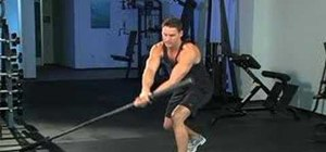 Do landmines with a barbell