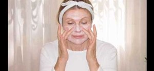 Give yourself an easy at home facial with Jenny Jones