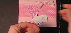 "Craft a sweet ""I Love You"" Valentine's Day card"