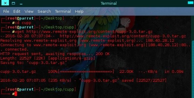 How to Make Wordlist with Cupp