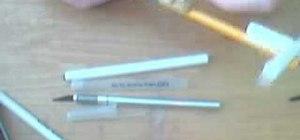 Make a nifty pen crossbow