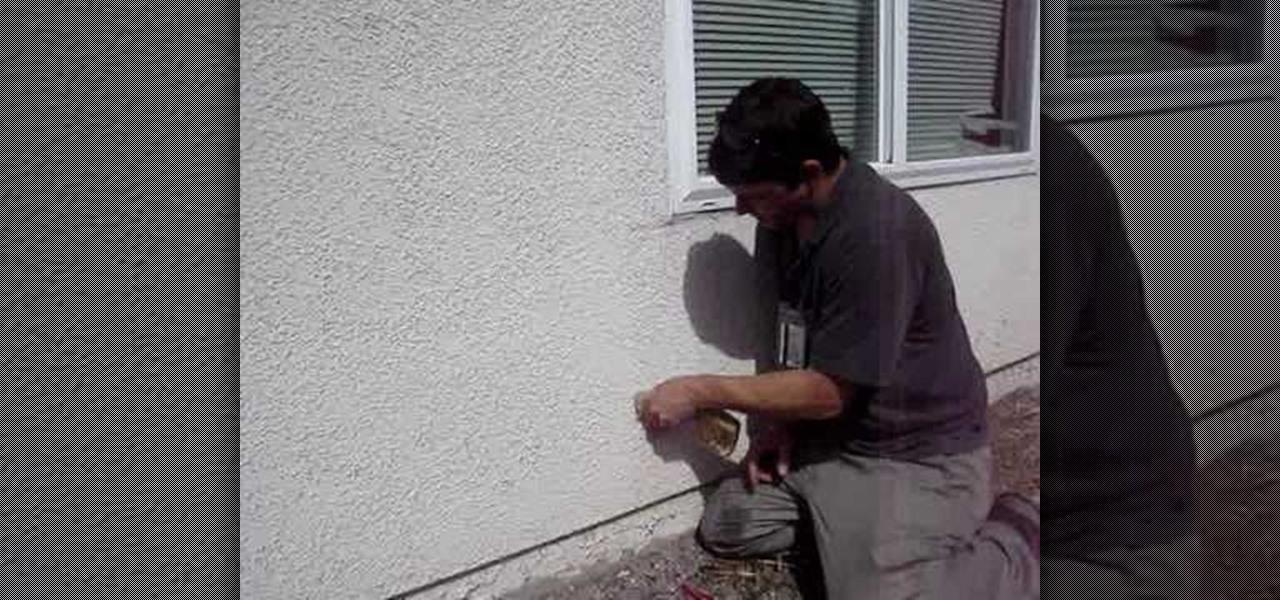 how to repair stucco cracks  u00ab construction   repair Fill Cracks in Basement Floor repair basement concrete floor cracks