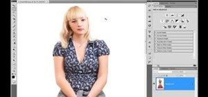 Use Photoshop's liquify filter to change how you look