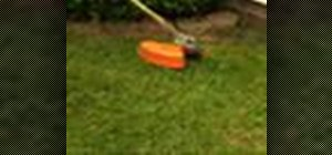 Replace the line on a STIHL trimmer Head