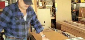Build wooden cabinet boxes