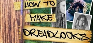 Make simple dreadlocks