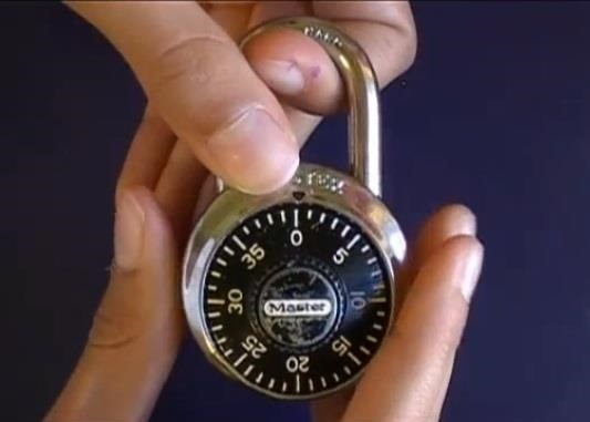 How to Crack a Master Lock Combination Padlock the Easy Way