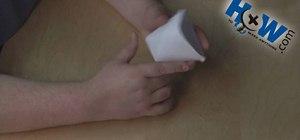 Make a paper cup