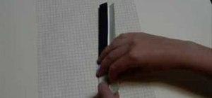Origami a lightsaber