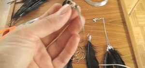 Make feather earrings & necklaces