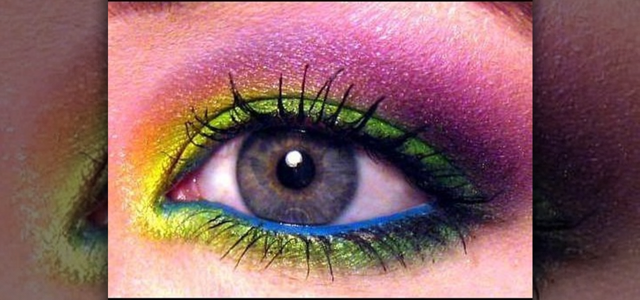 How to Apply Mad Hatter inspired wearable makeup « Makeup :: WonderHowTo