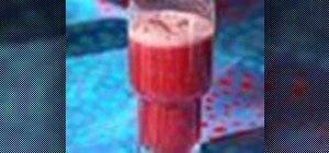 Make a South American-style agua fresca Concord grape fruit drink