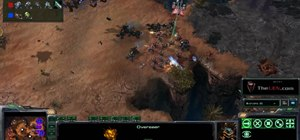Use the Zerg Overseer and their Spawn changeling ability in StarCraft 2