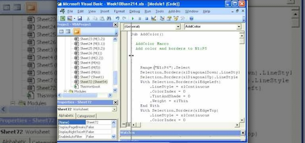 how to record and use macros in microsoft excel 2007  u00ab microsoft office    wonderhowto