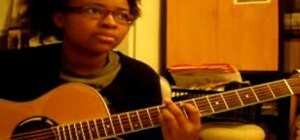 "Play ""Somewhere In Between"" by Lifehouse on guitar"