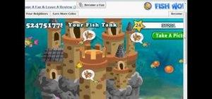 Hack Fish World with Cheat Engine (08/26/09)