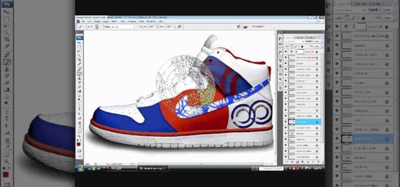 How To Customize Sneakers In Photoshop Before You Paint