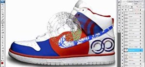 Customize sneakers in Photoshop before you paint them
