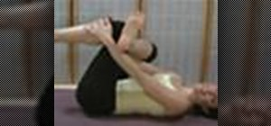Stretch tight hips with a floor exercise