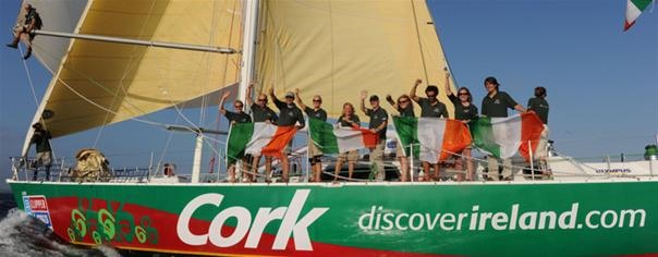 Cork Clipper welcomed home.