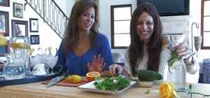 "Prepare refreshing ""spa-like"" drinks with Brooke Burke"