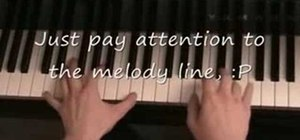 "Play ""Just Like Heaven"" by the Cure on piano"
