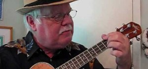 Play a G blues pattern on the ukulele