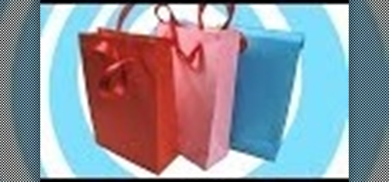 Make a Paper Gift Bag with/Without Handles