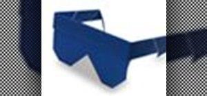 Origami sunglasses Japanese style
