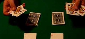 Perform the Opposites Attract card trick