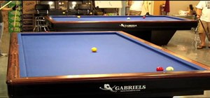 Master the basics of the billiard game 3 Cushion