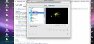 Create screensavers & custom wallpaper in Mac OS X