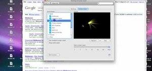 Create screensavers & custom wallpaper in Mac OS X