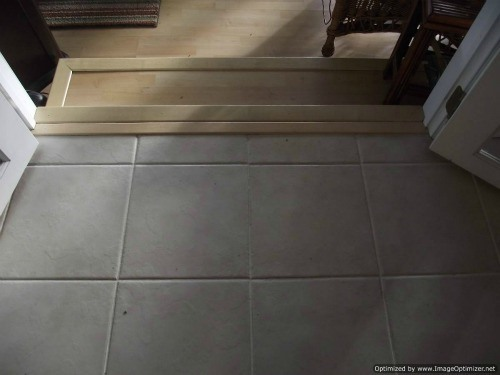 Can i lay ceramic tile over vinyl flooring thefloors co for Can you put vinyl flooring over tile