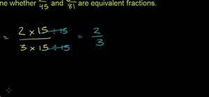 Compare two or more fractions in basic math