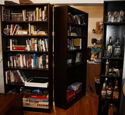 Build a Secret Spy Bookcase