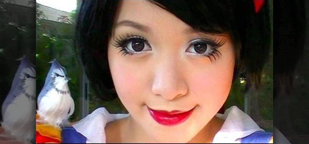Black cat face makeup