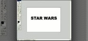 Create Star Wars text in Photoshop