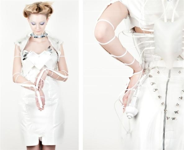 Cocktail Couture: Robotic Booze Generating Dress