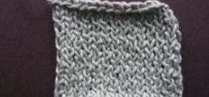Knit the Twisted Stockinette Stitch