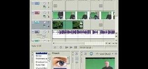 Add a chromakey effect with Sony Vegas Movie Studio