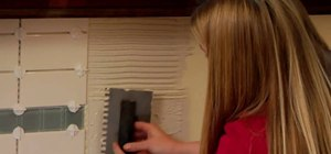 Install a glass tile backsplash with Lowe's