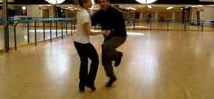 "Dance the ""California"" lindy hop routine"