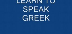 Speak Greek numbers