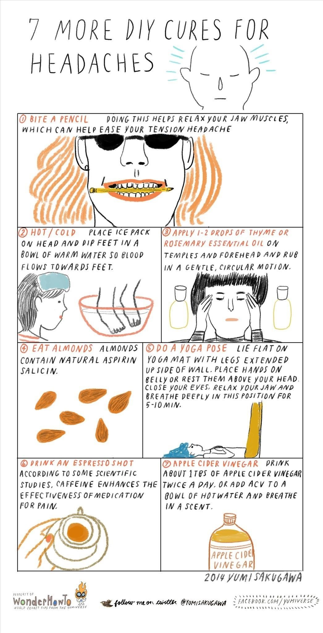 7 More DIY Cures for Headaches
