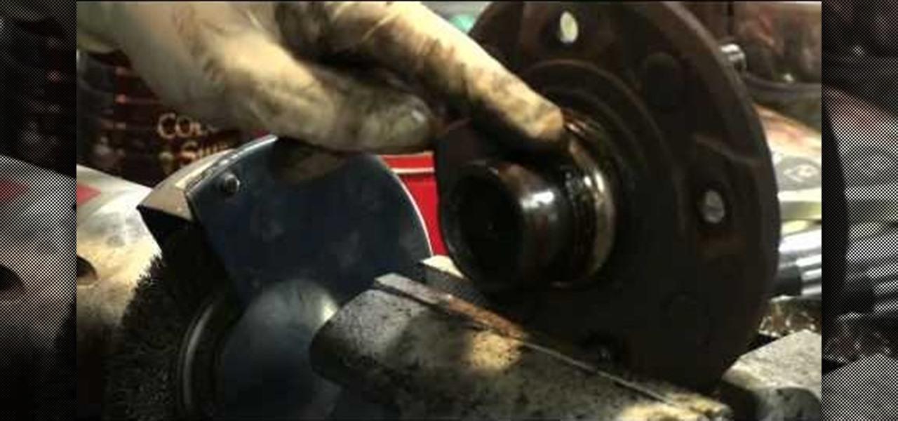 How To Replace A Honda Accord Wheel Bearings 171 Maintenance